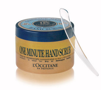 L'Occitane Shea One Minute Hand Scrub, 3.5 oz - A314368