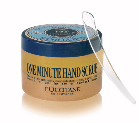 L'Occitane Shea One Minute Hand Scrub, 3.5 oz