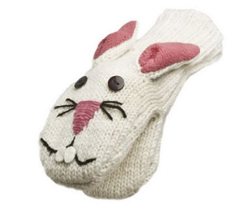 Nirvanna Designs Bunny Mittens - A322768