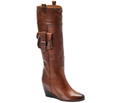 Sofft Brooklyn Riding Boots with Hidden Pocket