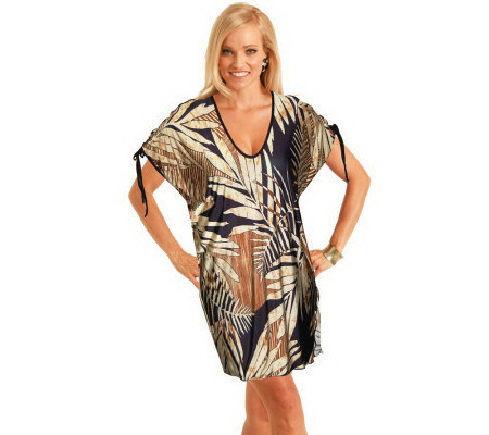 Carol Wior Copa Cabana Open Tie Cover-up