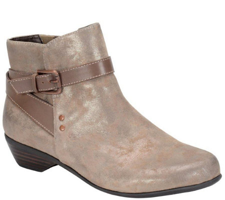 Comfortiva by Softspots Leather or Suede AnkleBoot - Ryder