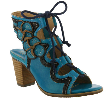 Spring Step L'Artiste Leather Sandals - Alejandra
