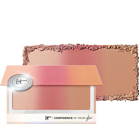 IT Cosmetics Confidence In Your Glow Blushing Bronzer 0.52 oz