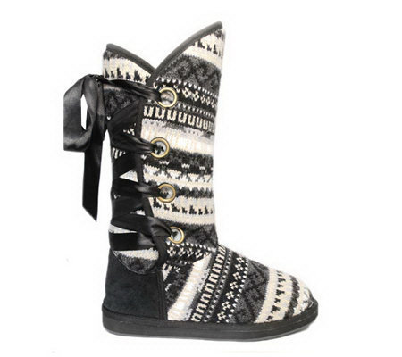 Muk Luks Lace-back Boot