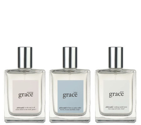 philosophy state of grace 2 fl. oz. spray fragrance trio