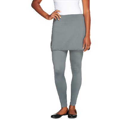 Skootskirt Ankle Length Skirted Leggings
