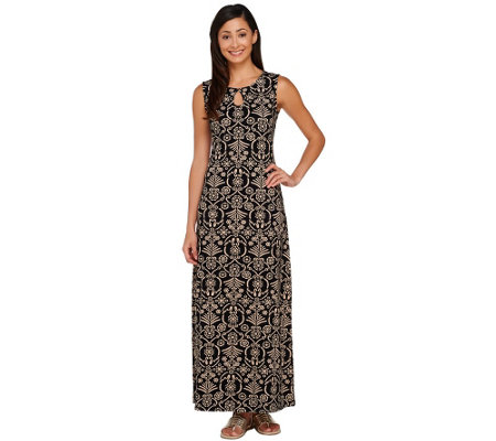 Liz Claiborne New York Regular Printed Maxi Dress