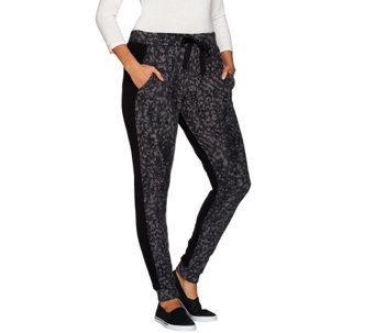 Cuddl Duds Fleecewear Stretch Jogger Pants - A268869