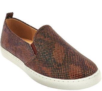 Isaac Mizrahi Live! SOHO Slip-On Sneakers - A269769
