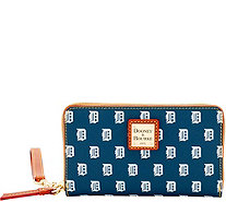 Dooney & Bourke MLB Tigers Zip Around Phone Wristlet - A280869