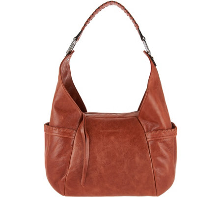 Aimee Kestenberg Vintage Leather Triple Entry Hobo- Laredo