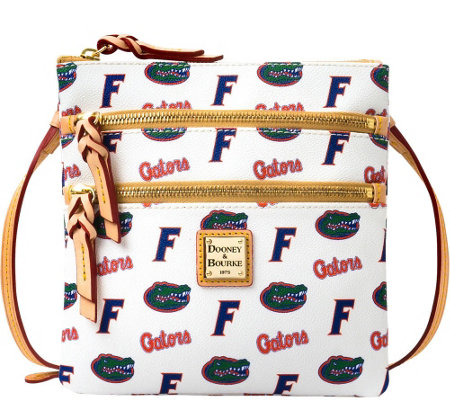 Dooney & Bourke NCAA University of Florida Zip Crossbody