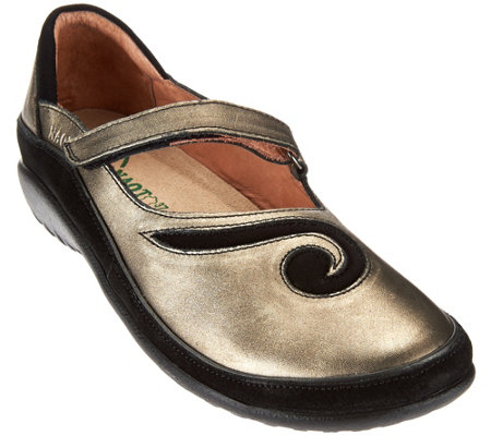 Naot Leather Mary Janes - Matai