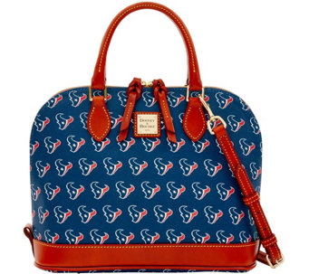 Dooney & Bourke NFL Texans Zip Zip Satchel - A285769