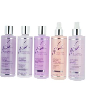 Nick Chavez Advanced Volume Cleanse, Treat & Style 5-Piece Kit