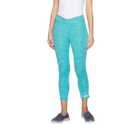 """As Is"" Cuddl Duds Sport Layer Cropped Pant"