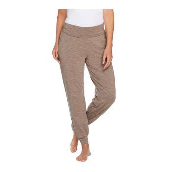 AnyBody Loungewear Cozy Knit Foldover Waist Jogger Pants