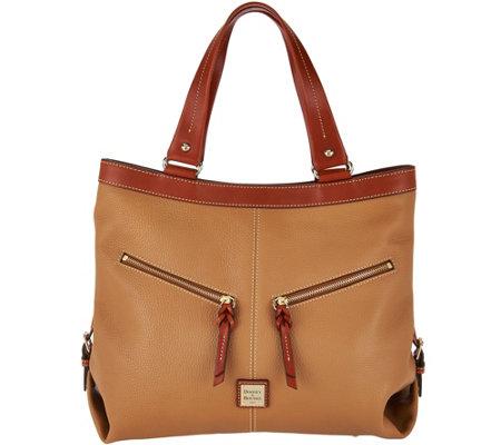 Quot As Is Quot Dooney Amp Bourke Pebble Leather Sara Shoulder Bag