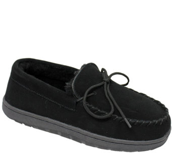 Lamo Dije California Leather Moccasin Slippers - A334769