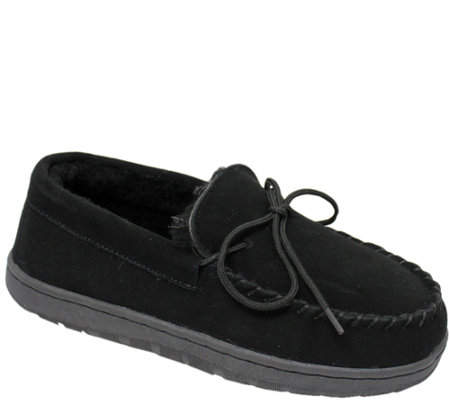 Lamo Dije California Leather Moccasin Slippers
