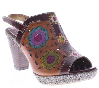 Spring Step L'Artiste Leather Sandals - Belen - A335669