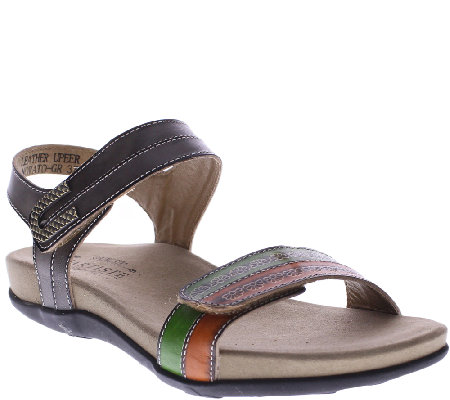 Spring Step L'Artiste Leather Sandals - Oakly