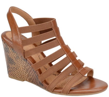 Sofft Wedge Sandals - Barstow