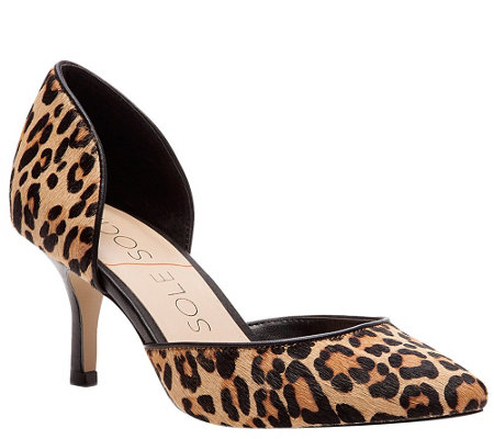 Sole Society D'orsay Pumps - Reymina Leopard