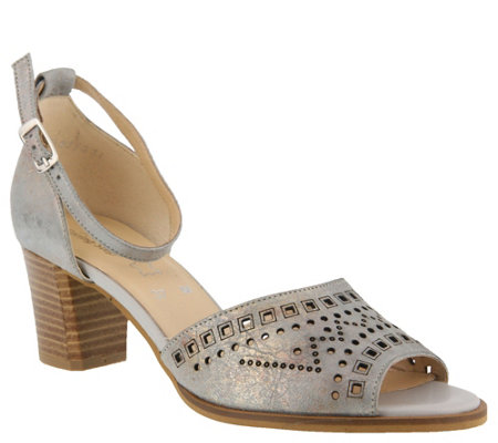 Spring Step Leather Mary Jane Sandals - Kanisha