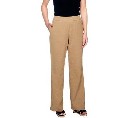 Liz Claiborne New York Petite Gauze Pull-On Pants