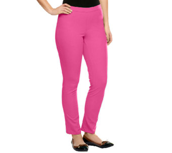 """As Is"" Isaac Mizrahi Live! Regular 24/7 Stretch Ankle Pants - A259670"