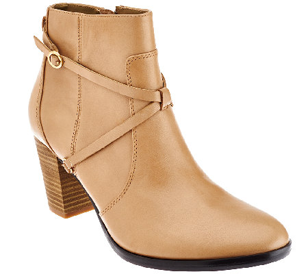 Isaac Mizrahi Live! Ankle Booties w/ Strap Details