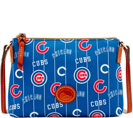 Dooney & Bourke MLB Nylon Cubs Crossbody Pouchette