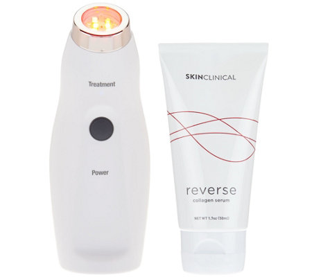 SkinClinical Reverse Light Therapy Device with Anti-aging Serum