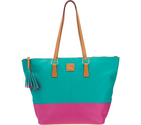 Dooney & Bourke Smooth Leather Tobi Tote