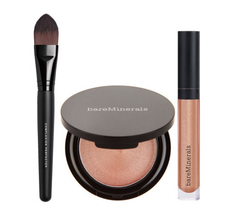 bareMinerals Girl on the Glow Chandelight & Gloss Set