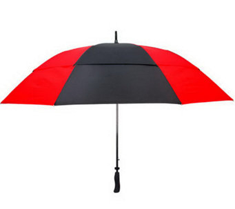 Leighton Windefyer Automatic Open Double CanopyGolf Umbrella - A315670