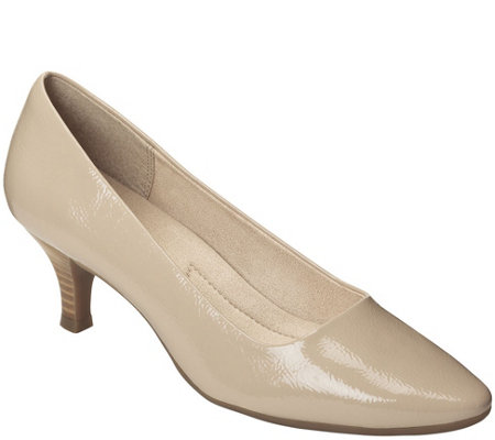 A2 by Aerosoles Kitten Heel Pumps - Foreward