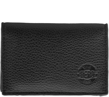 Hero Goods Bryan Wallet, Black