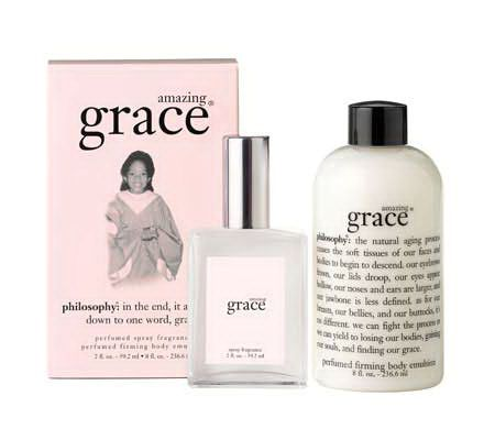 philosophy amazing grace gift set - Page 1 — QVC.com