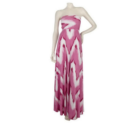 K-DASH by Kardashian Bandeau Top Maxi Dress