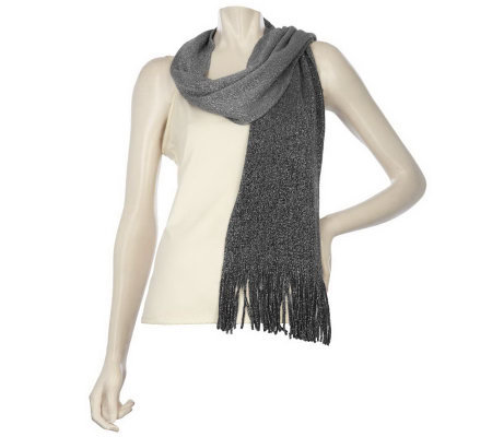 Layers by Lizden Metallic Ombre Scarf