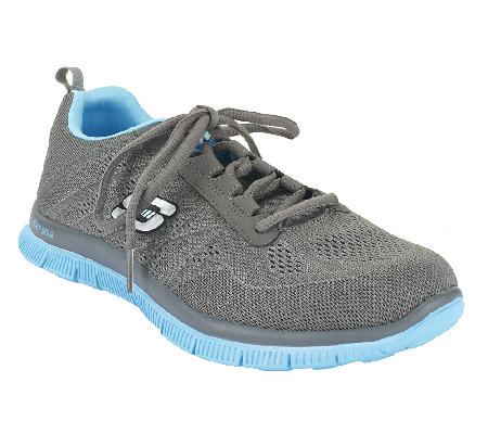 skechers flex appeal sweet spot mesh lace up shoes page. Black Bedroom Furniture Sets. Home Design Ideas
