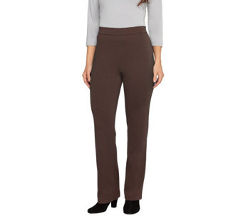 Liz Claiborne New York Petite Ponte Knit Boot Cut Pants - A256571