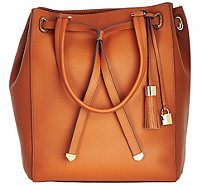 G.I.L.I. Smooth Leather Large Tote Bag - A273571