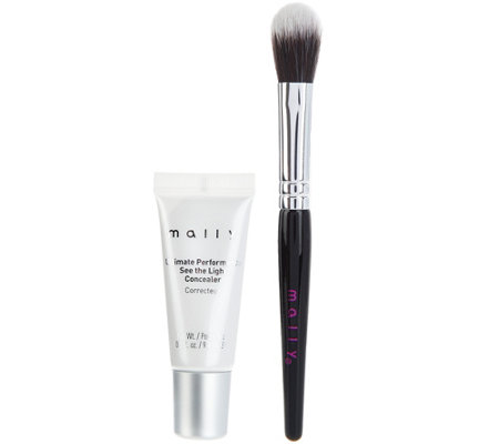 Mally See The Light Creamy Camouflage Concealer With Brush