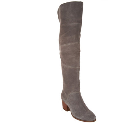 Sole Society Suede Over the Knee Boots - Melbourne