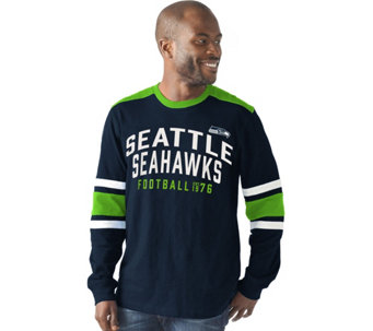 NFL Mens Slub Jersey Long Sleeve Top - A282271
