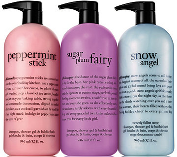 philosophy super-size dreamy holiday shower gel trio - A285671